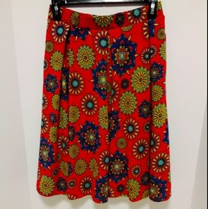 Lularoe multicolored skirt XS